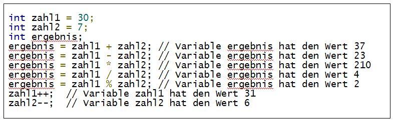 C#_Arithmetische_Operatoren_Bspe