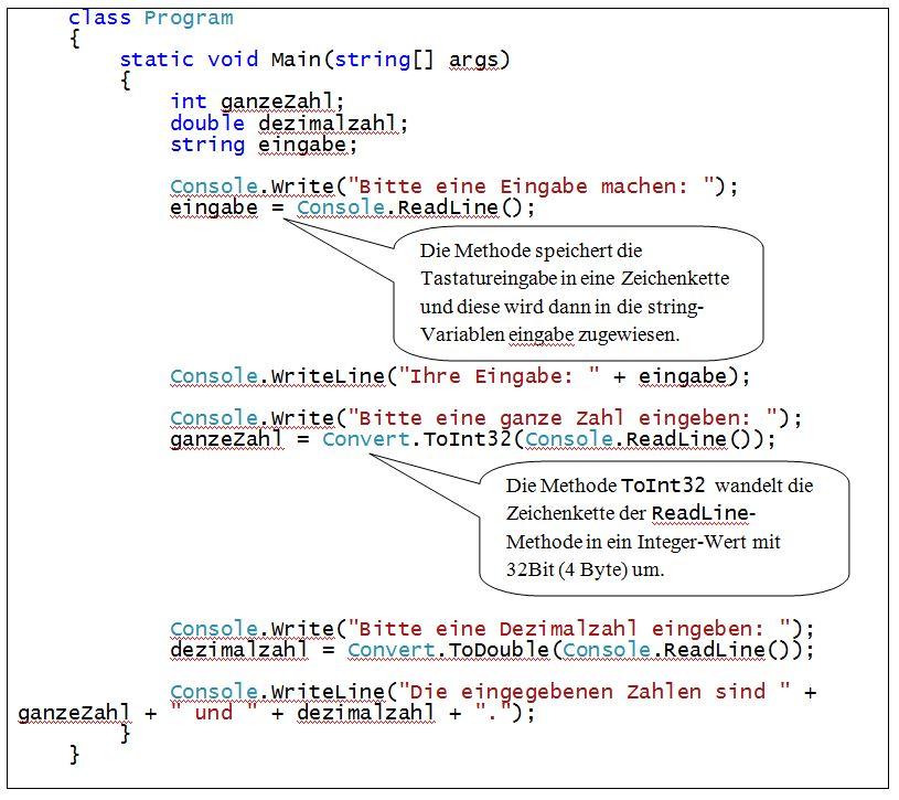 C#_Eingabe_Programm
